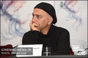 حمیدرضا آذرنگ در تشست خبری فیلم تنگه ابوغریب
