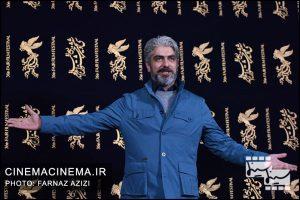 مسعود پاکدل در مراسم اکران فیلم تنگه ابوغریب