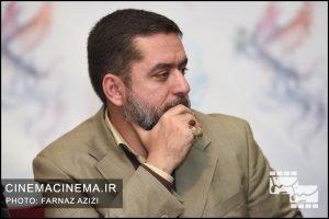 محمود رضوی در نشست خبری فیلم دارکوب