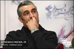 پژمان جمشیدی در نشست خبری فیلم سوتفاهم