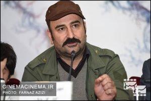 مهران احمدی در نشست خبری فیلم مصادره