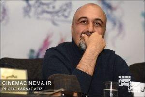رضا عطاران در نشست خبری فیلم مصادره