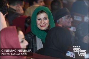 لیلی رشیدی در مراسم اختتامیه جشنواره فیلم فجر