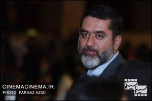 سید محمود رضوی در مراسم اختتامیه جشنواره فیلم فجر