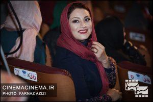 شبنم مقدمی در مراسم اختتامیه جشنواره فیلم فجر