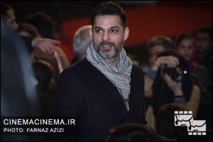 پیمان معادی در مراسم اختتامیه جشنواره فیلم فجر