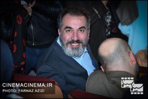 سیامک انصاری در مراسم اختتامیه جشنواره فیلم فجر