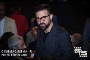هومن سیدی در مراسم اختتامیه جشنواره فیلم فجر