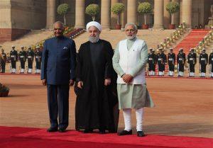 حسن روحانی و نخست وزیر هند