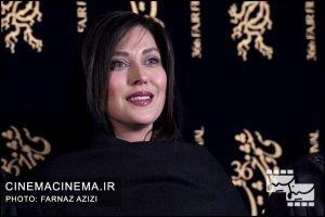 مهتاب کرامتی در اکران فیلم جاده فرعی