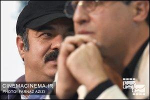 سعید آقاخانی در نشست خبری فیلم کامیون