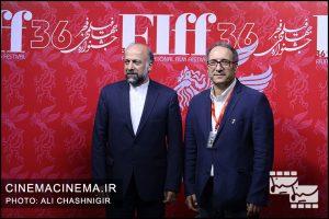 محمدمهدی حیدریان و رضا میرکریمی