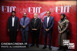 بازدید اعضای شورای شهر از جشنواره جهانی فیلم فجر