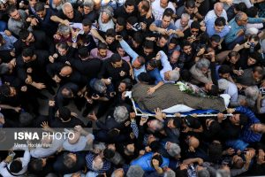 تشییع پیکر ناصر ملک مطیعی