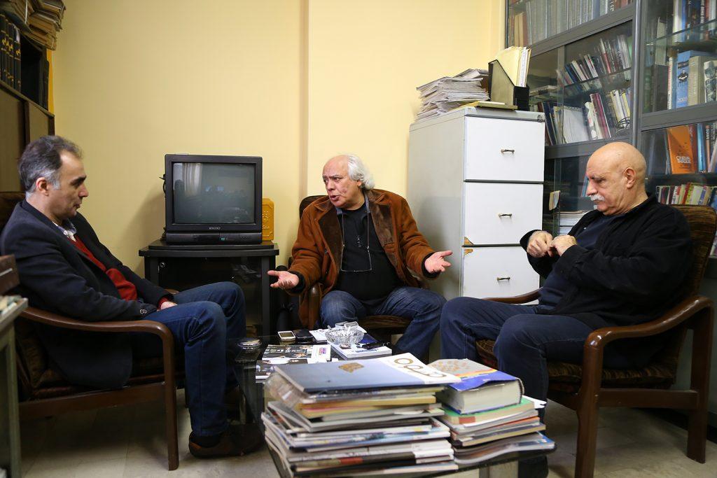 مناظره هوشنگ گلمکانی و سیروس الوند پیرامون سینمای هنر و تجربه