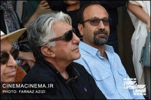 رضا کیانیان و اصغر فرهادی در دومین سالگرد فوت عباس کیارستمی