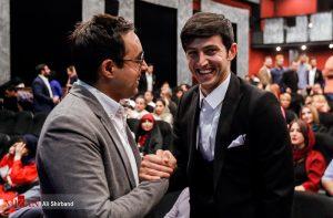 سردار آزمون و امیرحسین رستمی در اکران خصوصی فیلم مستند «سریک»