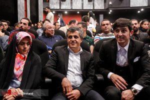 سردار آزمون و یاسر هاشمی در  اکران خصوصی فیلم مستند «سریک»