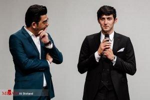 سردار آزمون و فرزاد حسنی در  اکران خصوصی فیلم مستند «سریک»