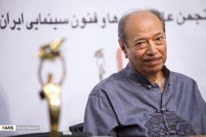 علی نصیریان در نشست خبری بیستمین جشن خانه سینما