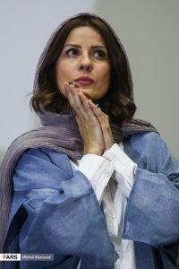 سارا بهرامی در اکران فیلم دارکوب
