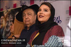 سحر دولتشاهی و بهمن فرمان آرا در اکران مردی فیلم دلم می خواد