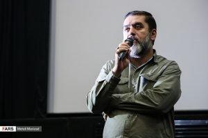 محمود رضوی در اکران فیلم دارکوب