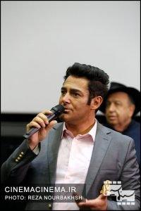 محمدرضا گلزار در اکران مردمی دلم می خواد
