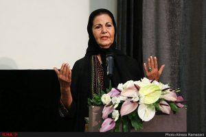 پوری بنایی در مراسم گرامیداشت ناصر ملک مطیعی