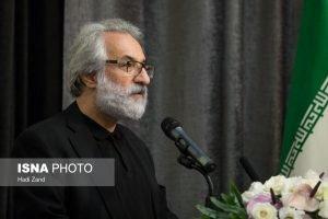 جواد طوسی در مراسم گرامیداشت ناصر ملک مطیعی