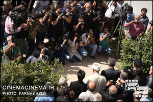 مراسم تشییع پیکر سید ضیاءالدین دری