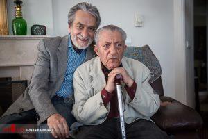 عزت الله انتظامی و فرزندش مجید انتظامی