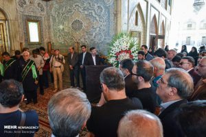 تشییع پیکر سید ضیاءالدین دری در شیراز