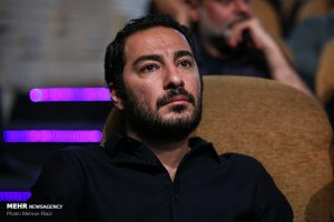 نوید محمدزاده در دومین دوره اهدای نشان داوود رشیدی در تماشاخانه سنگلج