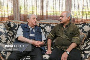 پرویز پرستویی و عزت الله انتظامی
