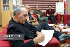 جلسه خانه سینما پس از فوت عزت الله انتظامی