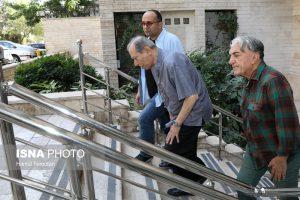 رضا کیانیان، علی نصیریان در منزل مرحوم عزت الله انتظامی