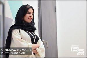 ماهور الوند در آیین نمایش شش فیلم کوتاه برتر دو سال اخیر سینمای ایران
