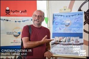 بابک کریمی در آیین نمایش شش فیلم کوتاه برتر دو سال اخیر سینمای ایران