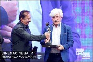 سید مهدی شجاعی و مجید مجیدی در آیین نکوداشت بیستمین جشن سینمای ایران