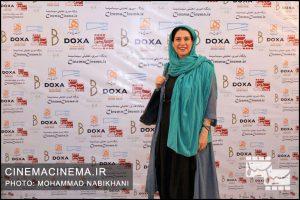 مونا زندیحقیقی در نخستین دوره جایزه آکادمی