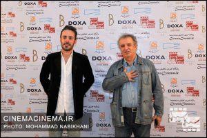 محمود سماکباشی و کاوه سماکباشی در نخستین دوره جایزه آکادمی