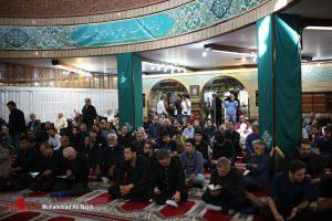 مراسم یادبود حسین عرفانی