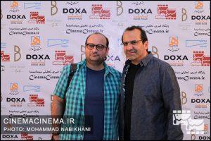 بهمن اردلان و علیرضا علویان در نخستین دوره جایزه آکادمی