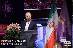علی نصیریان در بیستمین جشن خانه سینمای ایران
