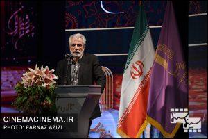 منوچهر شهسواری در بیستمین جشن خانه سینمای ایران