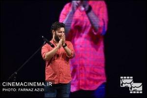 جواد عزتی در بیستمین جشن خانه سینمای ایران
