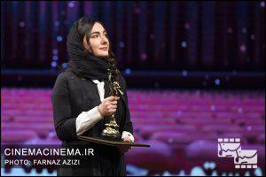 هانیه توسلی در بیستمین جشن خانه سینمای ایران