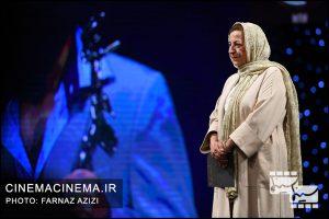 مرضیه برومند در بیستمین جشن خانه سینمای ایران