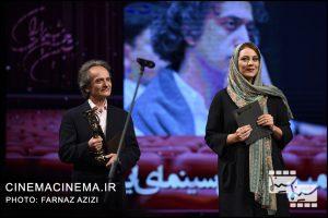 شبنم مقدمی و شهداد روحانی در بیستمین جشن خانه سینمای ایران